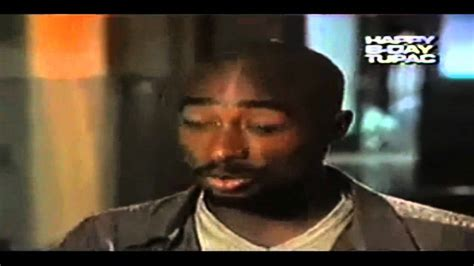 Tupac's Wisdom Rare Interview Footage - YouTube