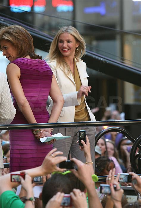 Pictures of Cameron Diaz in NYC Visiting The Today Show