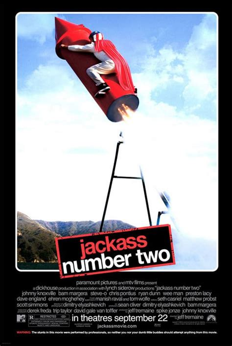 Jackass: Number Two Movie Poster (#5 of 5) - IMP Awards