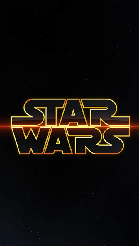 Star Wars Logo - The iPhone Wallpapers