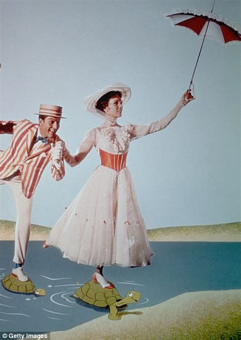 Iconic scenes from Mary Poppins mark 50th anniversary of