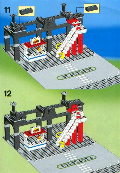 LEGO 6399 Airport Shuttle Instructions, Town