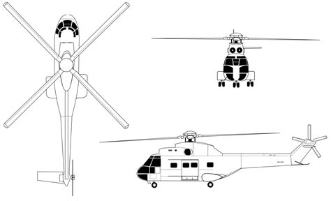 File:SA 330 Puma Drawing