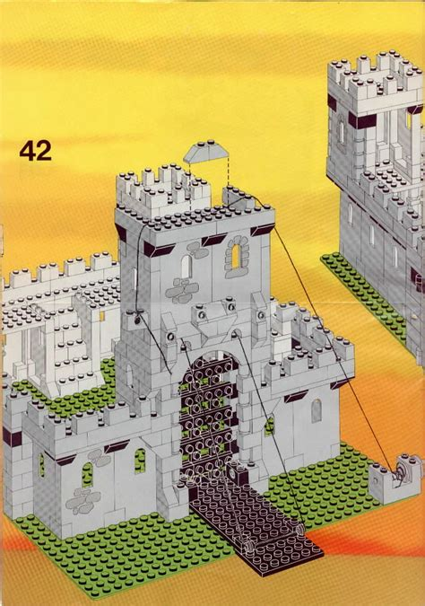 LEGO 6080 Kings Castle Instructions, Castle