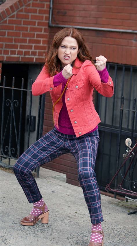 Ellie Kemper – On the set of 'Unbreakable Kimmy Schmidt