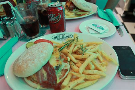 Lunch at HD Diner