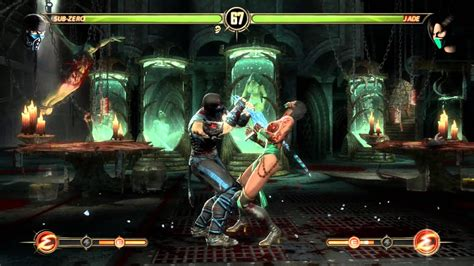 Mortal Kombat Komplete Edition PC gameplay Sub Zero vs