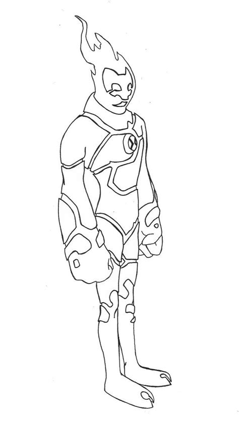 Heatblast Coloring Pages - Coloring Home