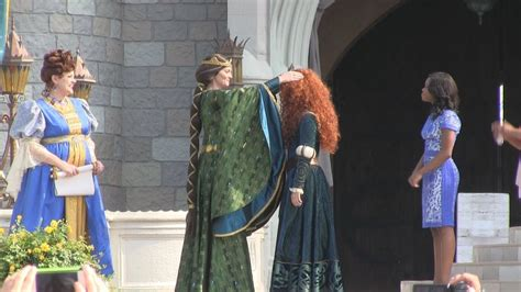 Full Princess Merida coronation ceremony at Disney's Magic