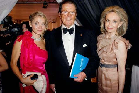 Devoted Roger Moore 'moved in' with stepdaughter during