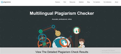 The 7 arguments why Plagramme plagiarism checking system