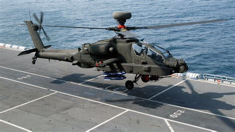 Boeing Ah-64 Apache Full HD Wallpaper and Background Image