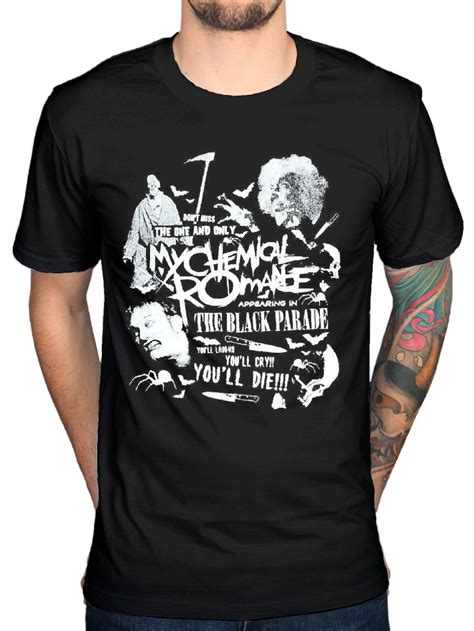 Official My Chemical Romance Scary T Shirt Gerard Way