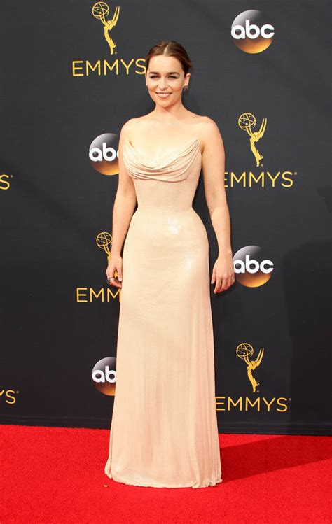 Emilia Clarke is Duana's Worst Dressed at 2016 Emmy Awards
