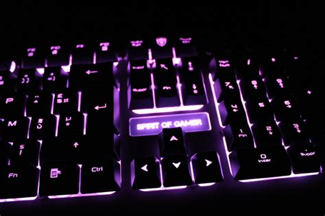 [Test] Clavier Spirit of Gamer Xpert K100 - Metatrone