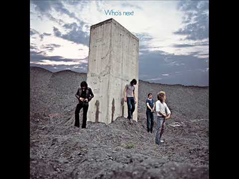 """The Who, """"Who's Next"""" album cover, 1971 