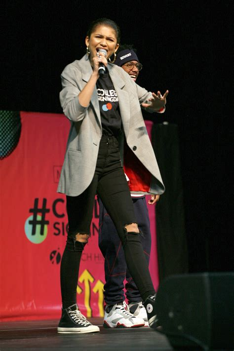 Zendaya - Michelle Obama Hosts the 5th National College