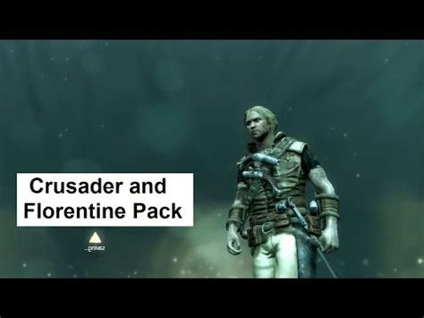 AC4 Shopping Guide: Crusader and Florentine Pack