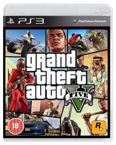 Grand Theft Auto V - GTA V (PS3) - Rabljeno - Konzolko