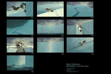 Storyboards © Ice Age