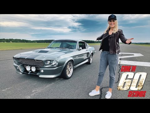 1967 Ford Mustang Shelby GT500 Eleanor - sound and details