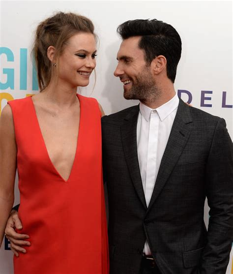 First Pic of Adam Levine & Behati Prinsloo's Adorable