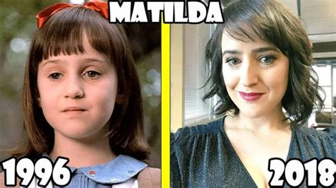 Matilda Before and After 2018 (the movie Matilda Then and