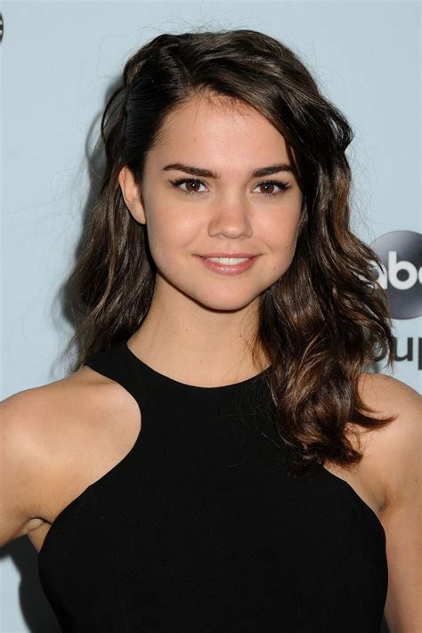 Maia Mitchell Hairstyle, Makeup, Dresses, Shoes And