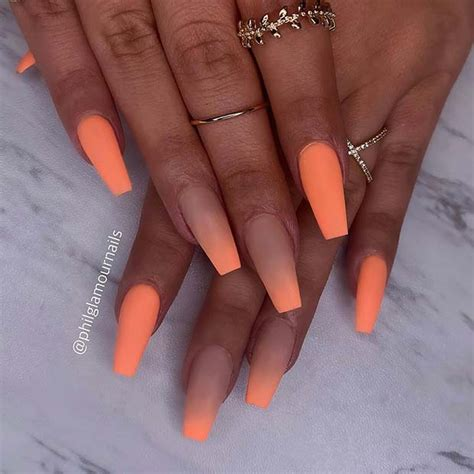 23 of the Best Orange Nail Art Ideas and Designs | Page 2