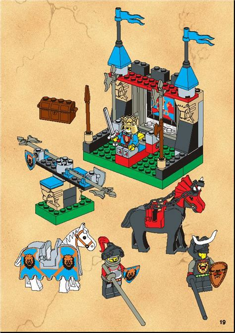 LEGO 6095 Royal Joust Instructions, Knights Kingdom