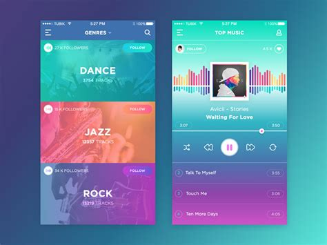 25 UI Designs Which Follow The Latest Design Trends