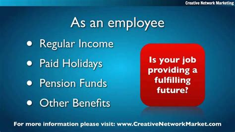 MLM vs Employment | Self-employed or Employee - YouTube