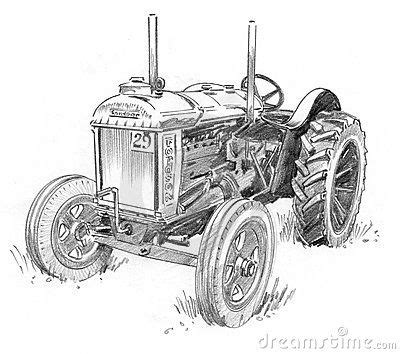 Farm Tractors Drawings images | Tractor drawing, Tractor