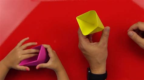 How To Fold An Origami Cup - Art For Kids Hub