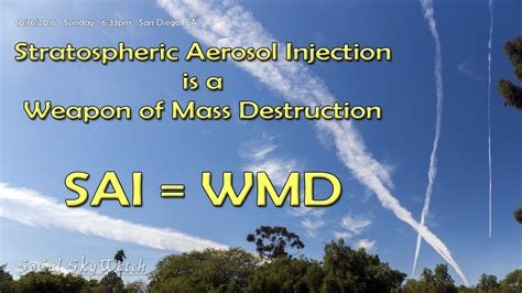 Stratospheric Aerosol Injection is a Weapon of Mass