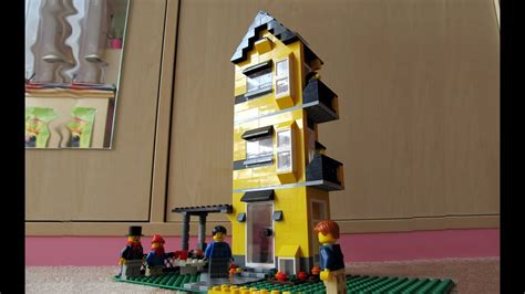 LEGO Creator 4996 Apartment Building Review / Panelák
