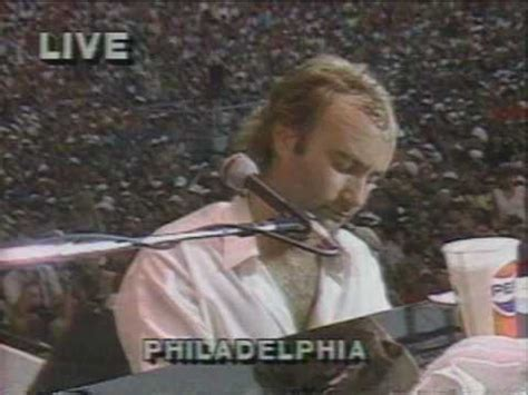 """Live Aid 1985 """"Phil Collins"""" Against All Odds - YouTube"""