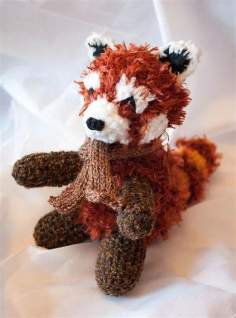 Rufus the Snuggly Plush Amigurumi Red Panda Crochet by