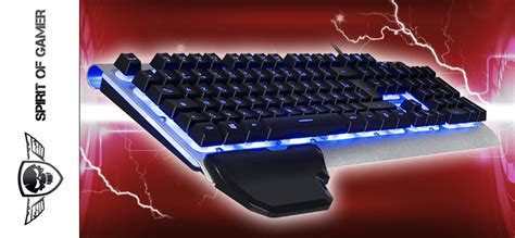 Test Spirit of Gamer XPERT-K100 – Clavier Gamer | PC