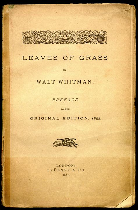 Leaves of Grass: The First Hundred Years | Robert D