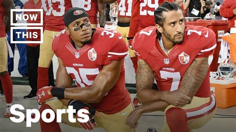 Remember When: Colin Kaepernick Takes a Knee   NowThis